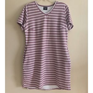 32 Degrees | Purple striped dress
